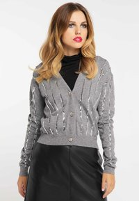 faina - Vest - melange grey - 0