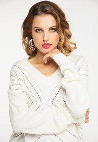 faina - Pullover - white - 3