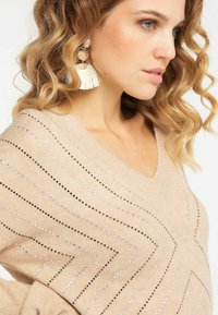 Faina - Pullover - dark beige - 3