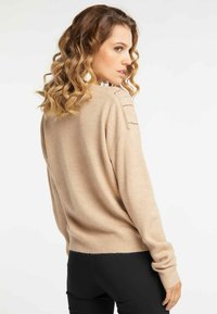 faina - Pullover - dark beige - 2