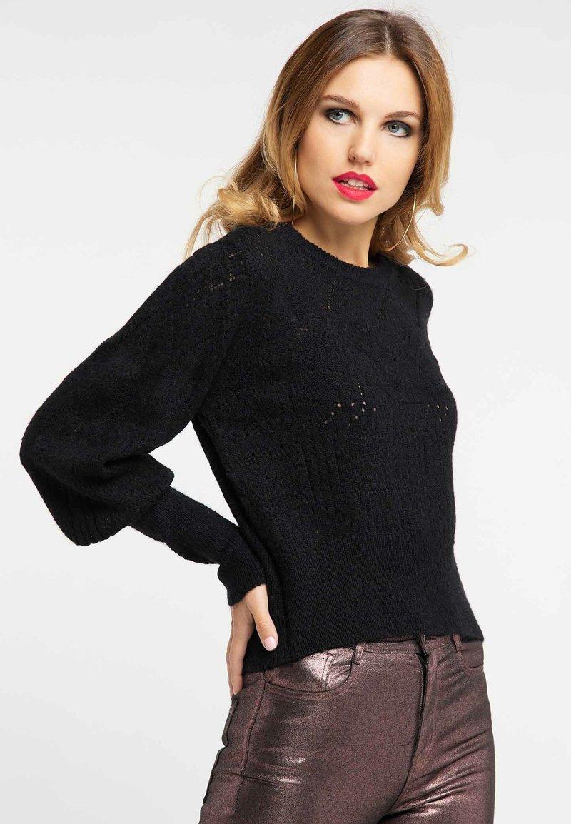 Faina - Pullover - black
