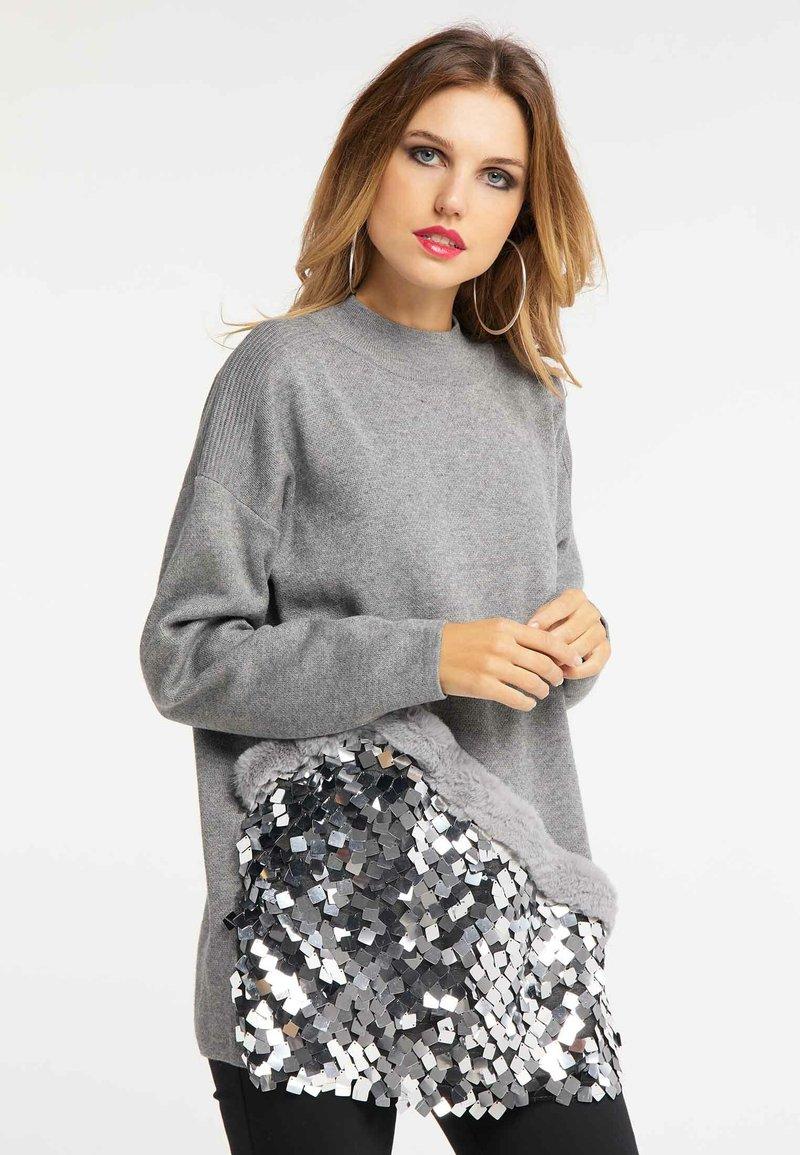 Faina - Pullover - grey
