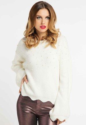 Jumper - wool white