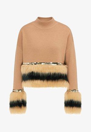 Pullover - kamel