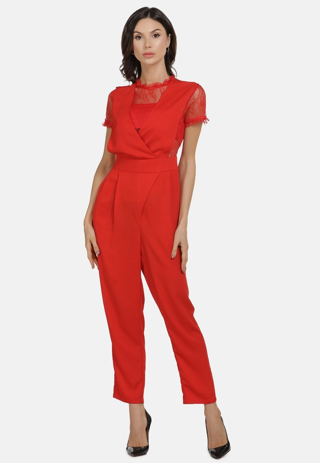 JUMPER - Overall / Jumpsuit - rot