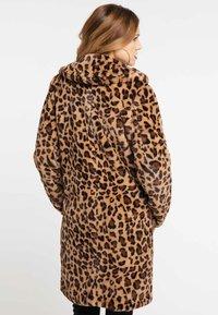 faina - MANTEL - Veste d'hiver - leopard - 2