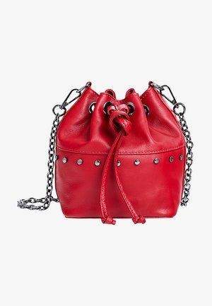 Across body bag - red