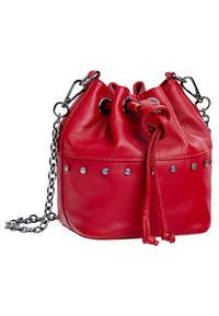 faina - Across body bag - red - 2
