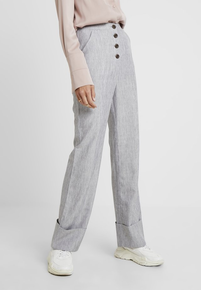 NERDY TROUSERS - Broek - grey