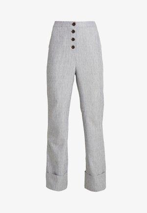 NERDY TROUSERS - Kalhoty - grey