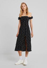 Fashion Union Tall - BRIDGET - Robe longue - black - 0