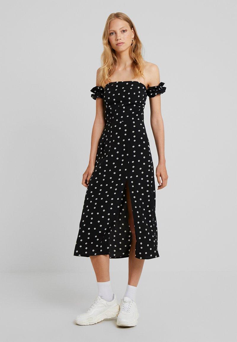Fashion Union Tall - BRIDGET - Robe longue - black