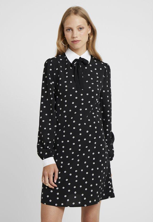 PIANA - Shift dress - black