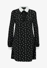 PIANA - Pouzdrové šaty - black
