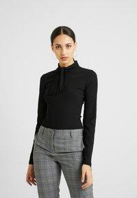 Fashion Union Tall - BODYSUIT - Longsleeve - black - 0