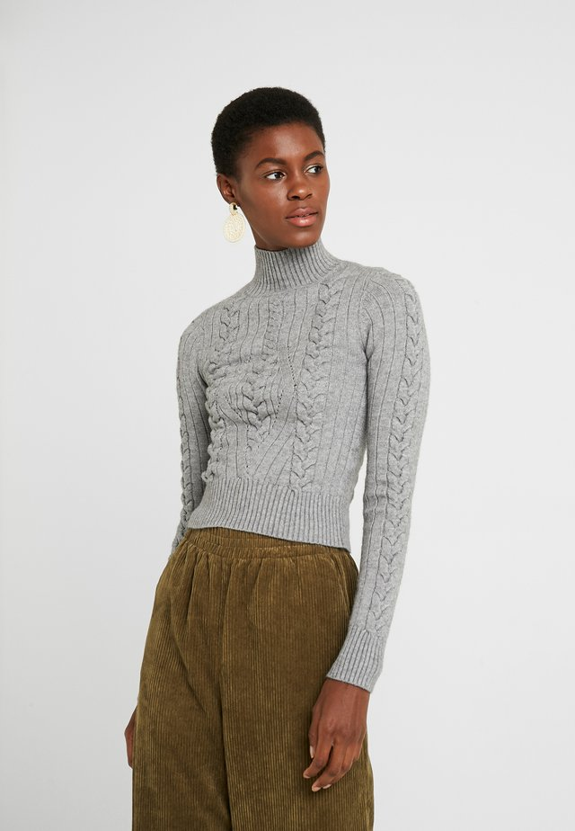 ASSAR - Strickpullover - grey