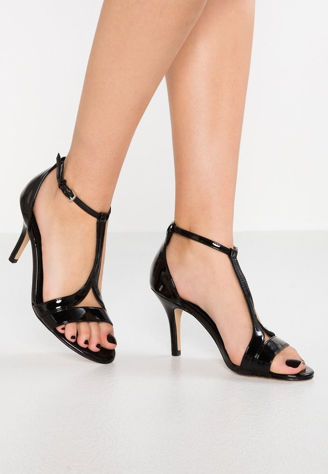 DONNA - High heeled sandals - black