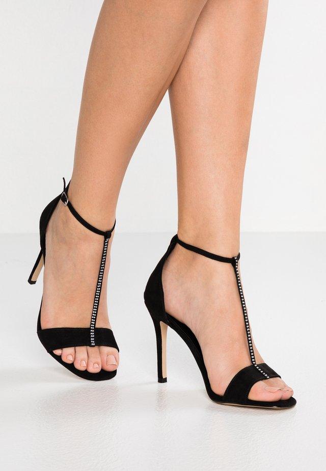 LITT - Sandály na vysokém podpatku - black
