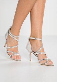 Faith - LINEA - High Heel Sandalette - silver - 0