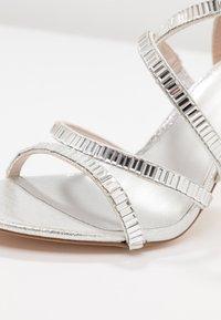 Faith - LINEA - High Heel Sandalette - silver - 2
