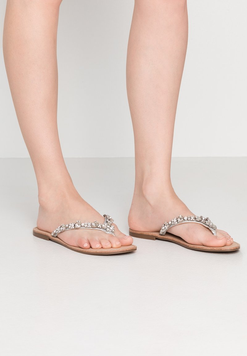 Faith - JAZ - T-bar sandals - silver