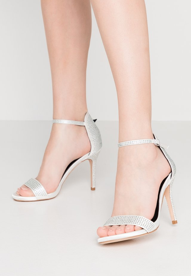 LOVELY - High Heel Sandalette - ivory