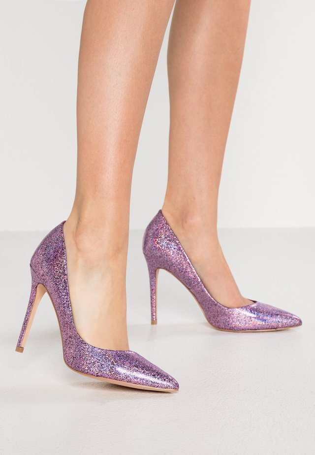 CRACKLE - Klassiska pumps - pink