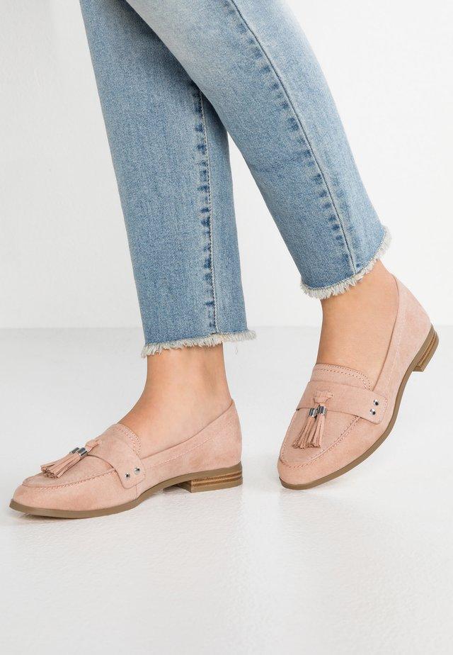 AMORE - Nazouvací boty - natural