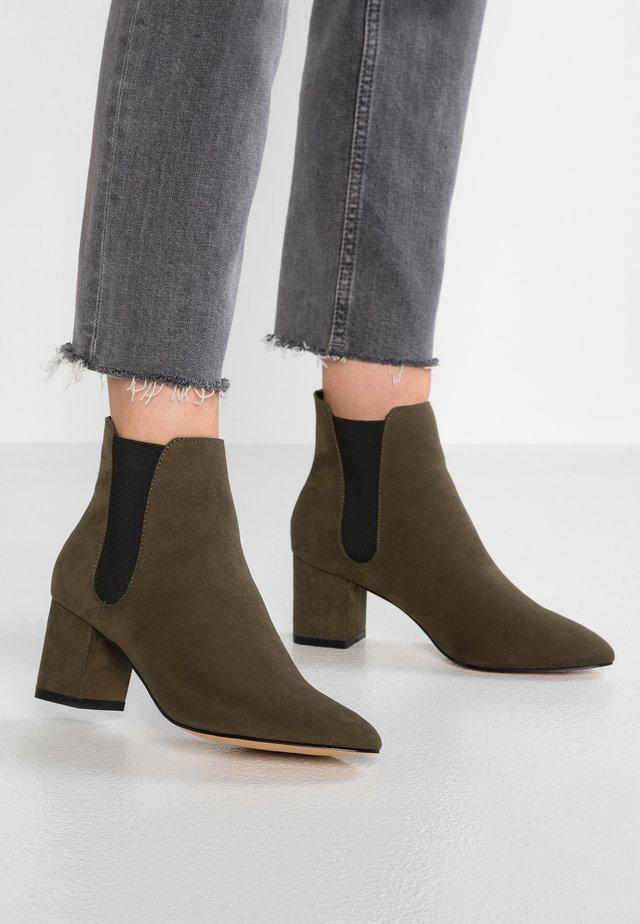 BLOCK - Kotníková obuv - khaki