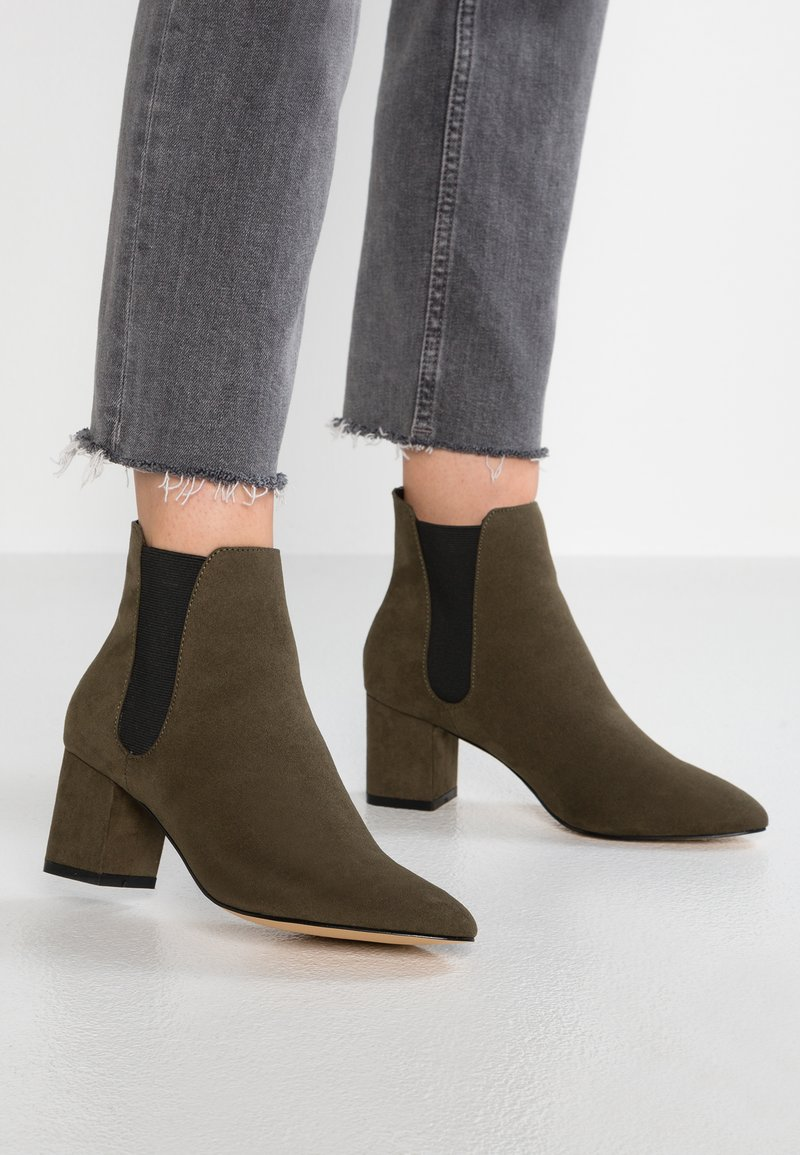 Faith - BLOCK - Ankle boots - khaki