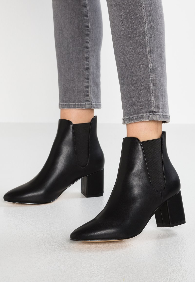 Faith - BLOCK - Boots à talons - black
