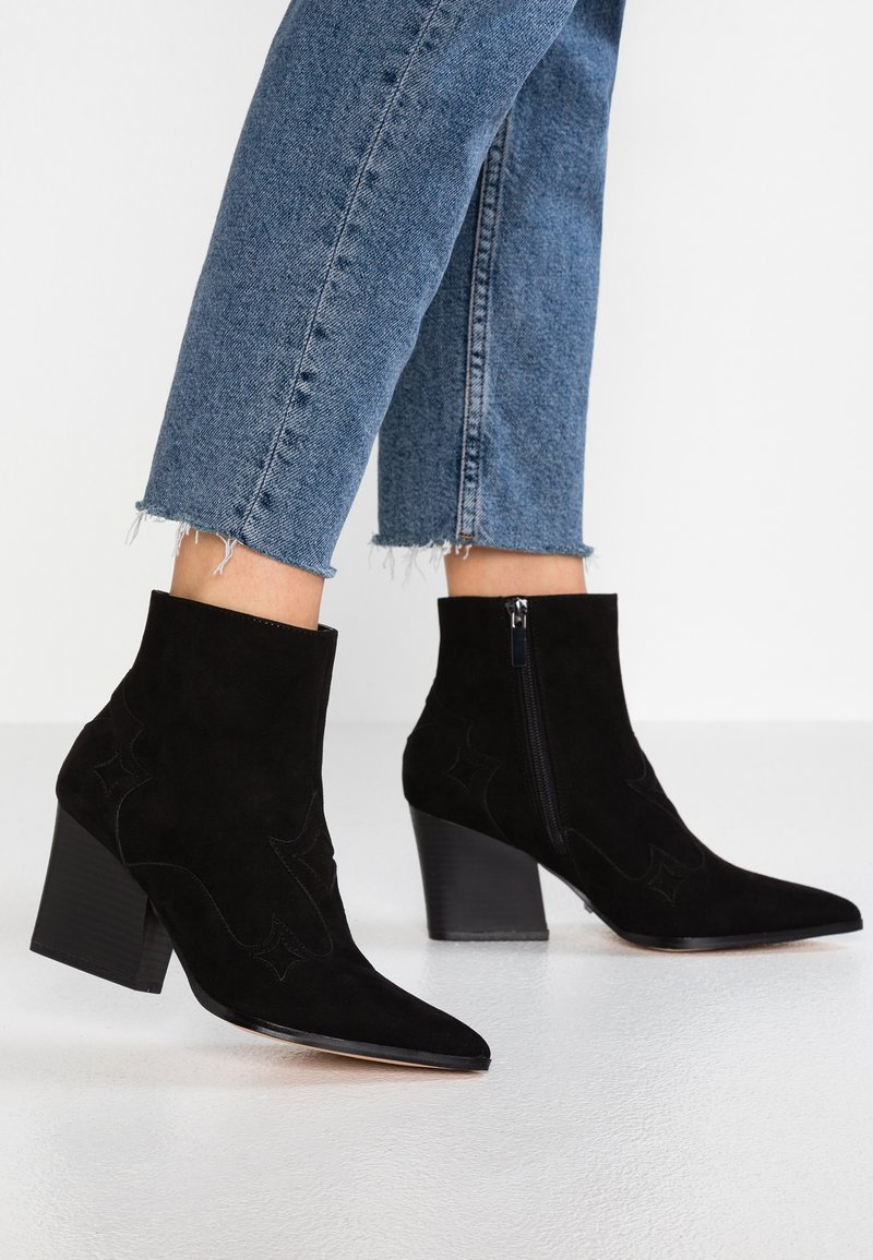 Faith - BESTIE - Cowboy/biker ankle boot - black