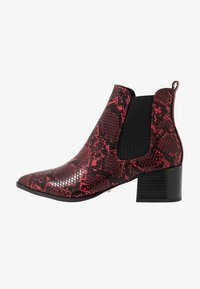 Faith - BEADED - Ankle Boot - red - 1