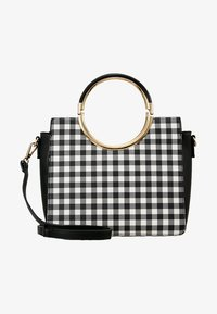 Faith - GINGHAM HANDLE GRAB - Handbag - black - 5