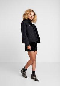 Fashion Union Petite - CANDY SKIRT - Minijupe - black - 1