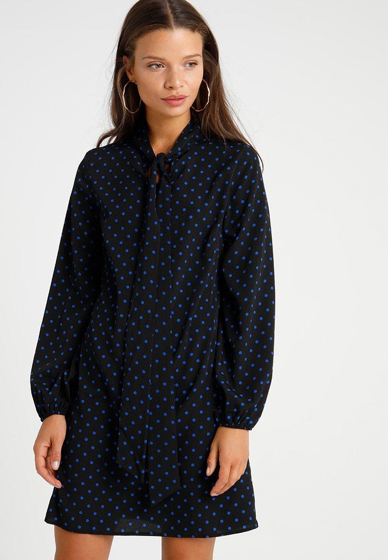 Fashion Union Petite - Robe d'été - black/blue