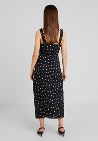 Fashion Union Petite - PRINT MAXI DRESS WITH RUFFLED CAMI STRAPS - Maxiklänning - multi-coloured