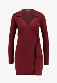 Fashion Union Petite - BANEBERRY - Robe pull - burgundy - 5
