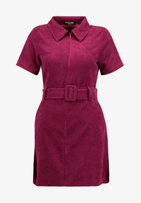 Fashion Union Petite - RIO FASHION UNION BELTED MINI DRESS - Vestido informal - cranberry - 5