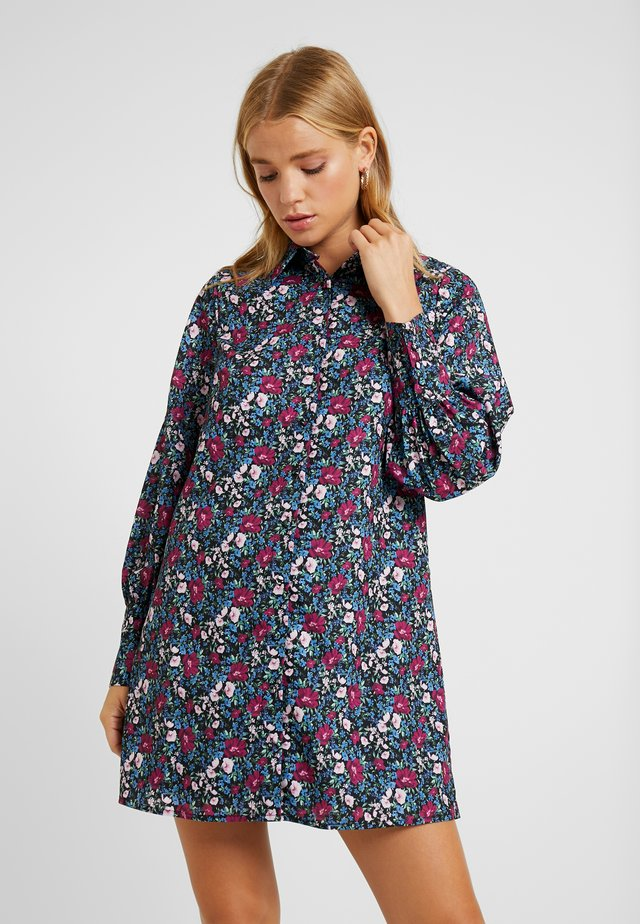 GENEVA PRINTED DRESS - Skjortklänning - vintage meadow floral