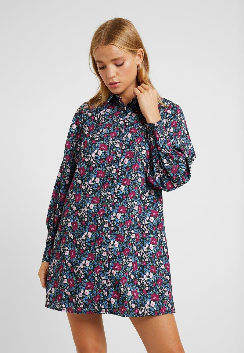Fashion Union Petite - GENEVA PRINTED DRESS - Robe chemise - vintage meadow floral