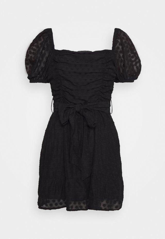 BLAKE - Korte jurk - black