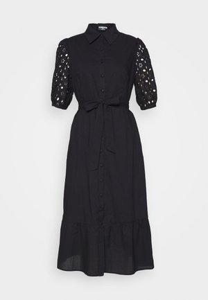 DEIDRE BODYSUIT - Vestido camisero - black