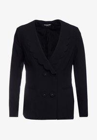 Fashion Union Petite - TORA SCALLOP TRIM - Blazer - black