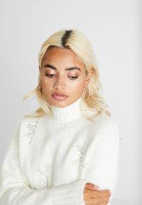 Fashion Union Petite - SNOWFLAKE - Pullover - cream - 3