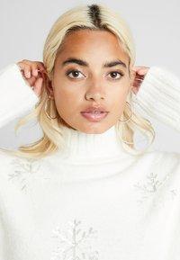 Fashion Union Petite - SNOWFLAKE - Pullover - cream - 5