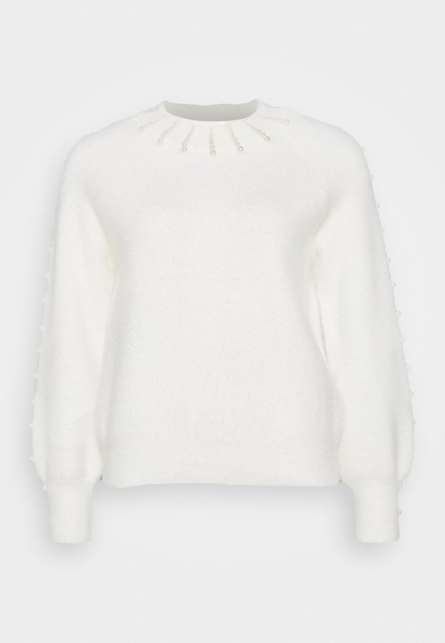 PEARLY - Jumper - cream