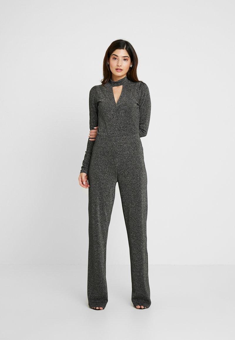Fashion Union Petite - LURA - Jumpsuit - silvery