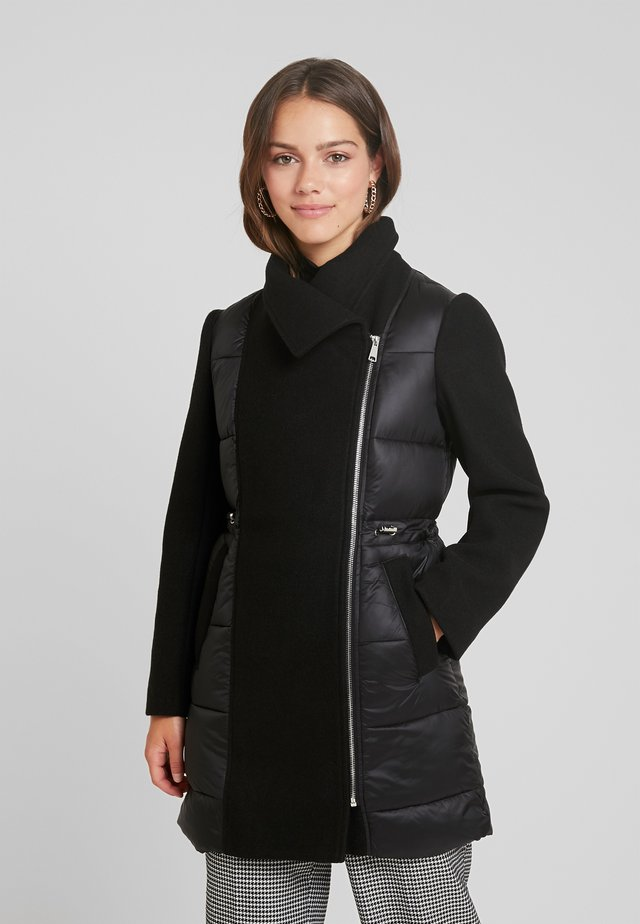 PUFFY FORMAL COAT - Winter jacket - black