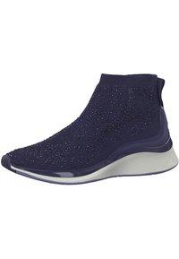 Tamaris Fashletics - Höga sneakers - navy - 2